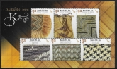 2016  New Zealand.  MS.3787  Matariki 'Kete'  mini sheet  U/M (MNH)