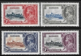 1935 Barbados  - SG.241/4  KGV Silver Jubilee set lightly mounted mint.  Cat. value £30.00