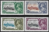 1935 Cayman Islands  - SG.108-11  KGV Silver Jubilee set lightly mounted mint.  Cat. value £19.00