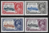 1935  British Virgin  Islands  - SG.103-6  KGV Silver Jubilee set lightly mounted mint.  Cat. value £24.00