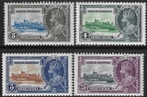 1935  British Honduras  - SG.143-6    KGV Silver Jubilee set  mounted mint.  Cat. value £19.00